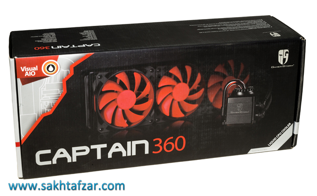 deepcool gamer storm captain 360 2