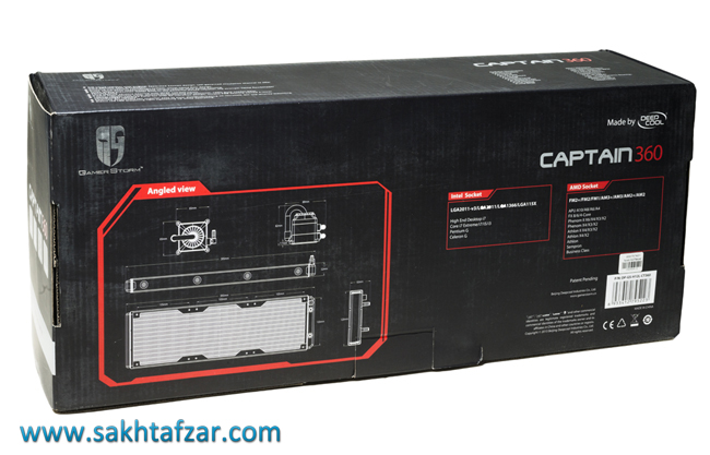 deepcool gamer storm captain 360 3