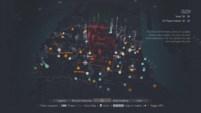 TheDivision Map