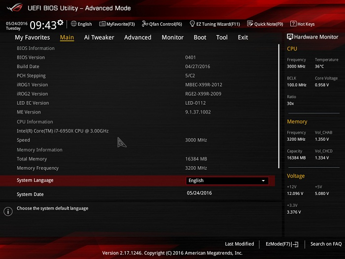 asus rog strix x99 gaming bios 2