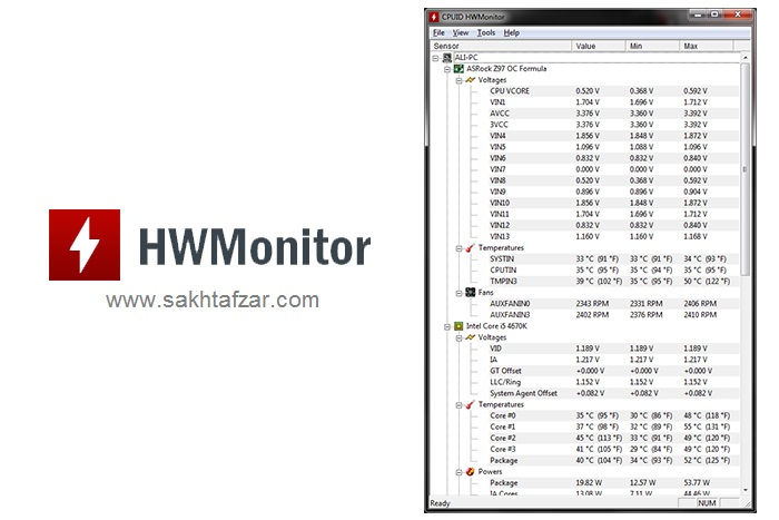 hardware monitor cpuid