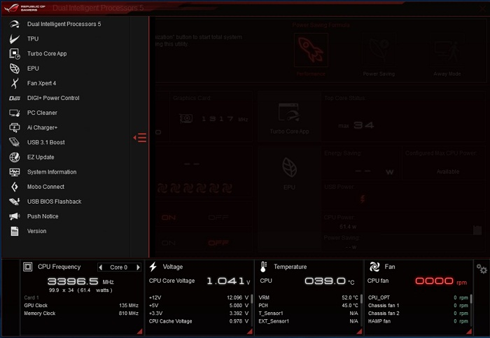 ASUS ROG Rampage V Edition 10 ai suit 2