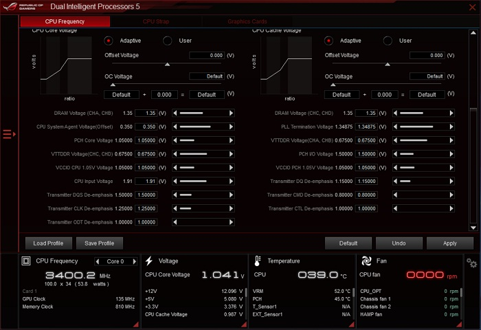 ASUS ROG Rampage V Edition 10 ai suit 4