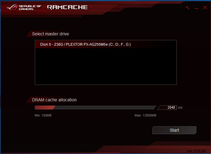 ASUS ROG Rampage V Edition 10 ai suit ramcache