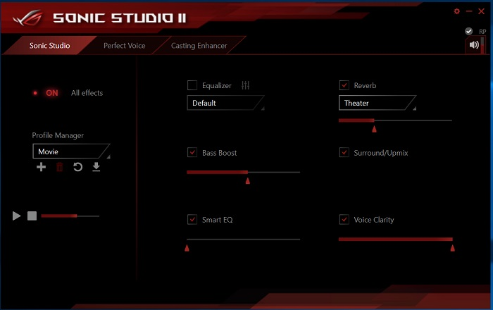 ASUS ROG Rampage V Edition 10 ai suit sonic studio 2