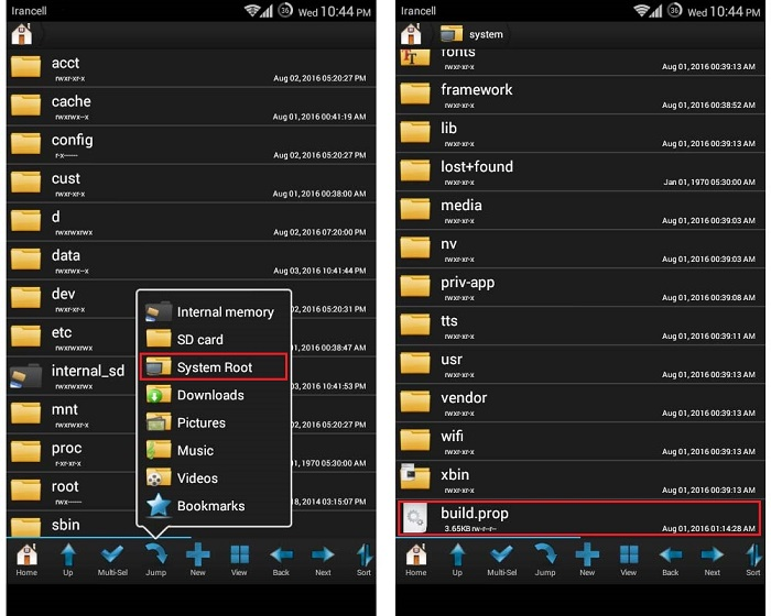 root-partition-android