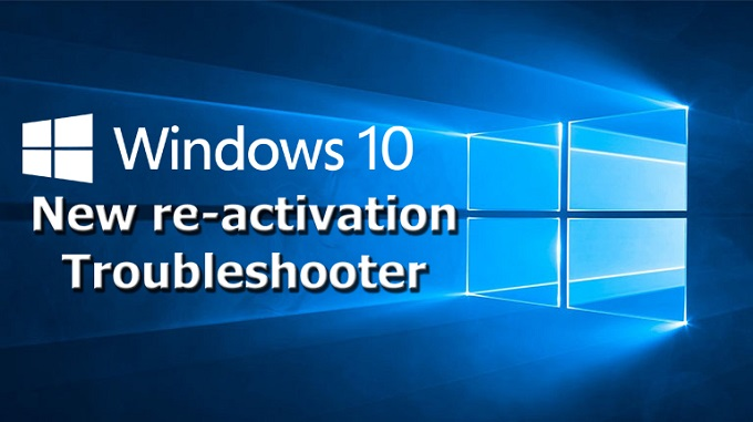 Windows 10 New Reactivation