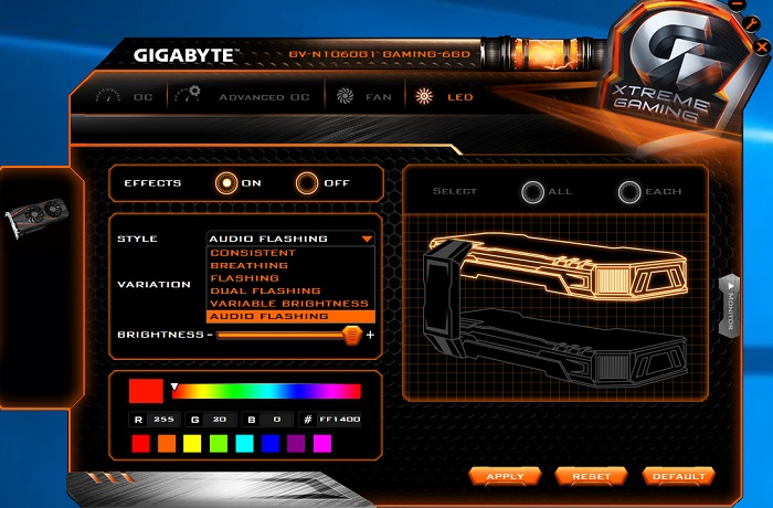 gigabyte geforce gtx 1060 g1 gaming xtreme engine 5
