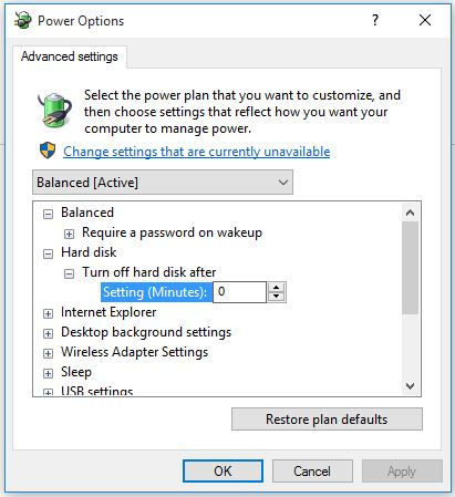 windows10-harddisk-power-options