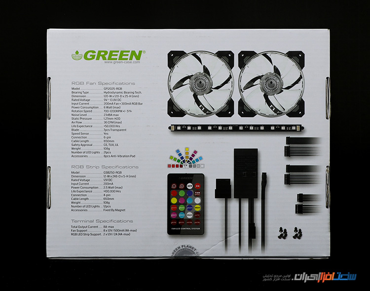 GREEN RGB LIGHTING KIT 4