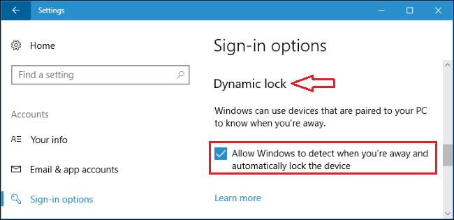 windows-10-dynamic-lock-sign-in-option
