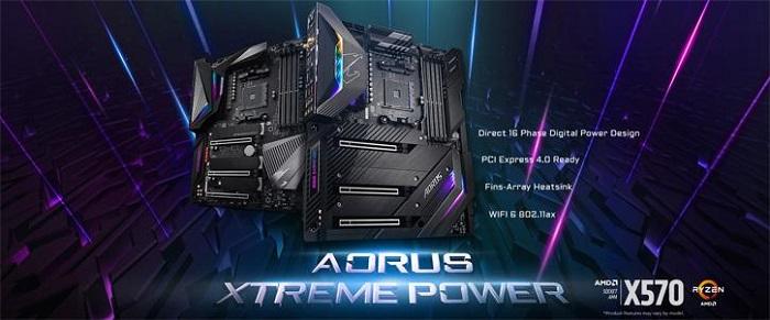 کامپیوتکس 2019: ورود به جهان بازیهای رایانهای با مادربردهای AORUS X570 گیگابایت