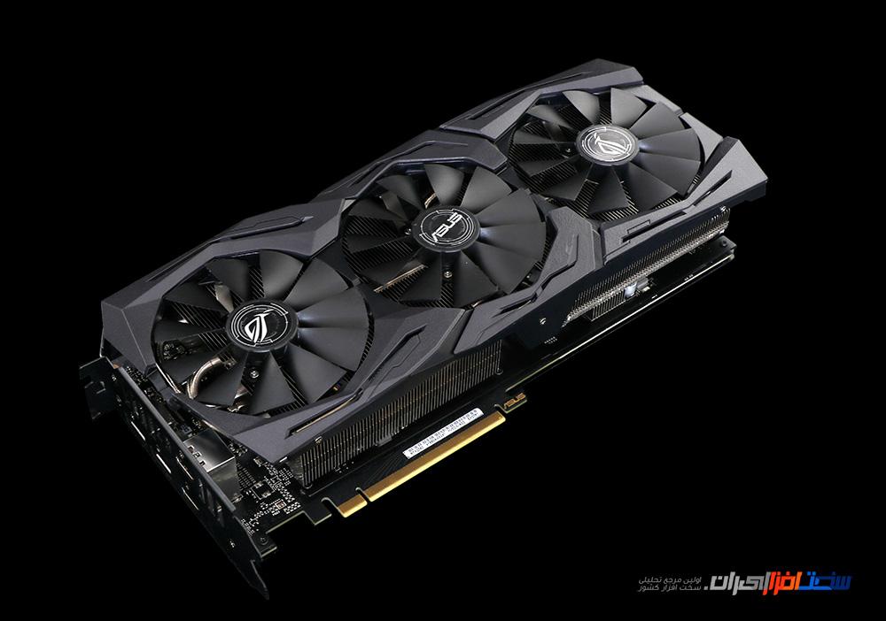 بررسی کارتهای گرافیک ASUS ROG STRIX Geforce RTX2060/GTX1650/GTX1660Ti