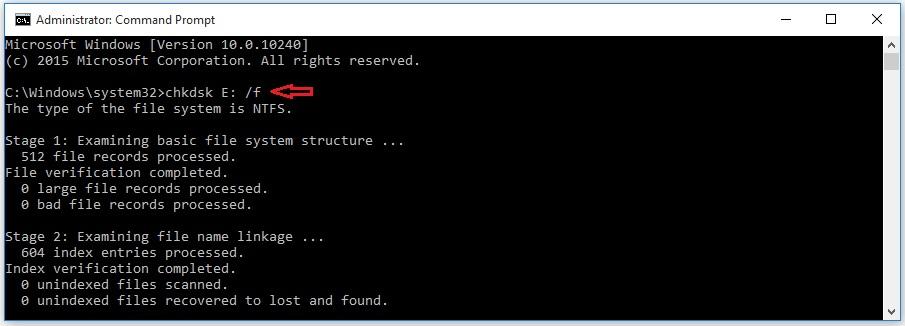 آموزش رفع خطای The disk structure is corrupted and unreadable