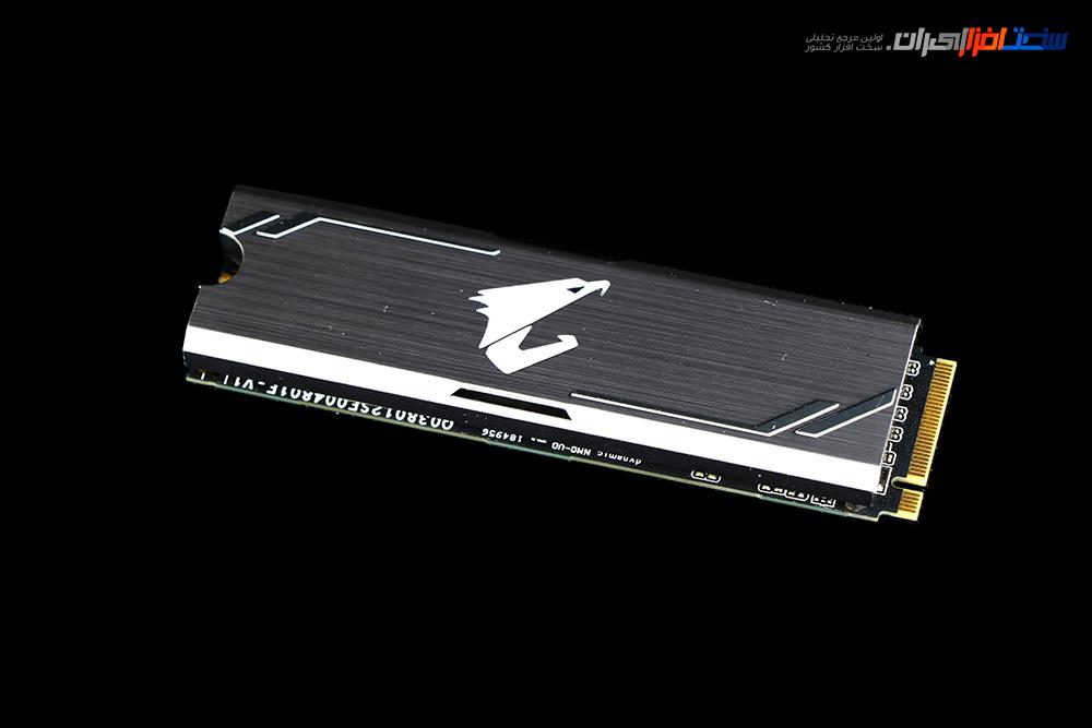 بررسی درایور جامد GIGABYTE AORUS RGB 512 M.2 NVMe SSD