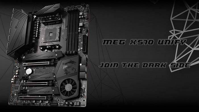 با مادربرد MEG X570 UNIFY کمپانی اماسآی، به سمت تاریک قدرت بپیوندید!