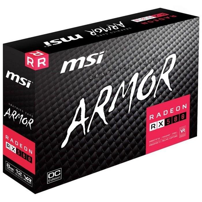 MSI نسخه جدید AMD Radeon RX 580 Armor را آماده می کند