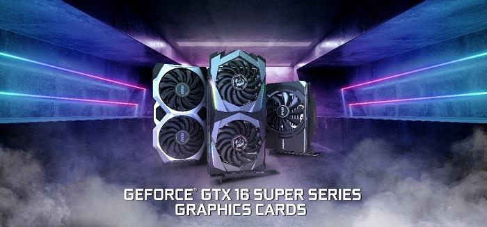 نسل جدید کارتهای گرافیک سری GeForce GTX 16 SUPER اماسآی معرفی شد
