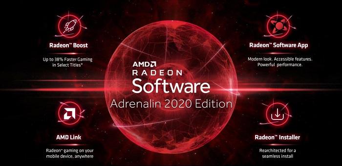 نرمافزار Radeon Adrenalin 19.12.2 را با پشتیبانی RX 5500 XT منتشر شد