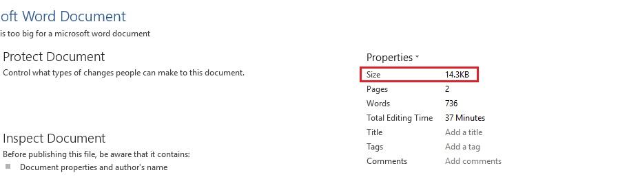 آیا یک فایل سند ورد (Word) میتواند شامل بینهایت کلمه یا عکس باشد؟