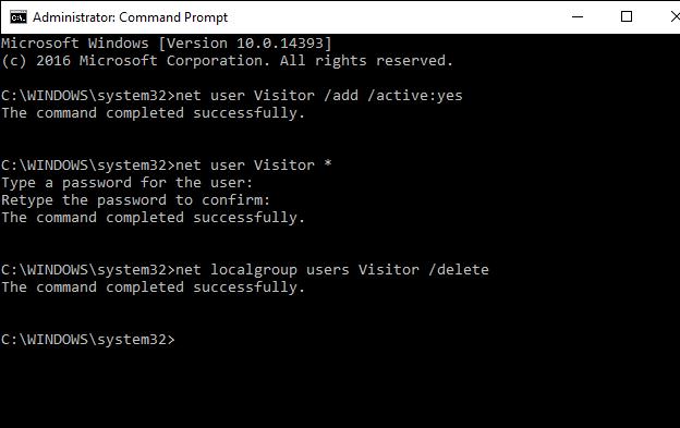 آشنایی با حساب کاربری میهمان (Guest) و نحوه فعالسازی آن در سیستمعامل ویندوز