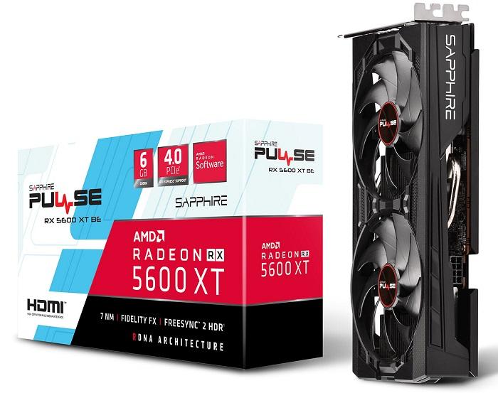 کمپانی سافایر کارت گرافیک کوچک RX 5600 XT Pulse BE خود را معرفی کرد