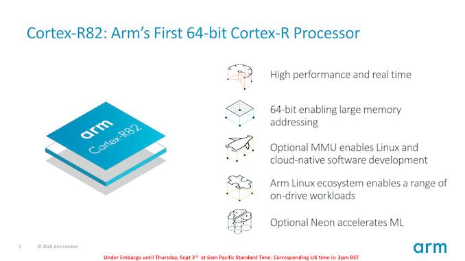 کمپانی آرم از اولین پردازشگر 64 بیت زمان حقیقی خود تحت عنوان Cortex-R82 رونمایی کرد