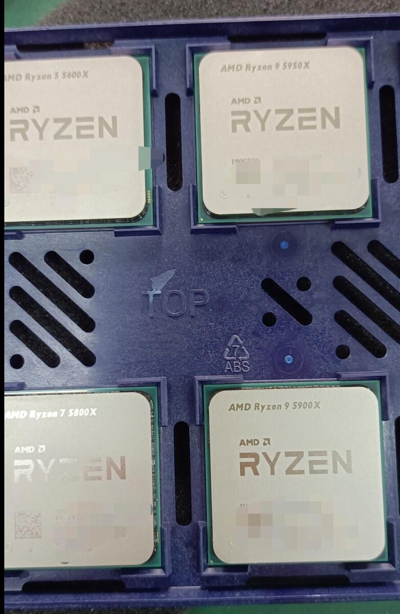 اولین تصویر از پردازندههای نسل پنجم سری رایزن ایامدی منتشر شد
