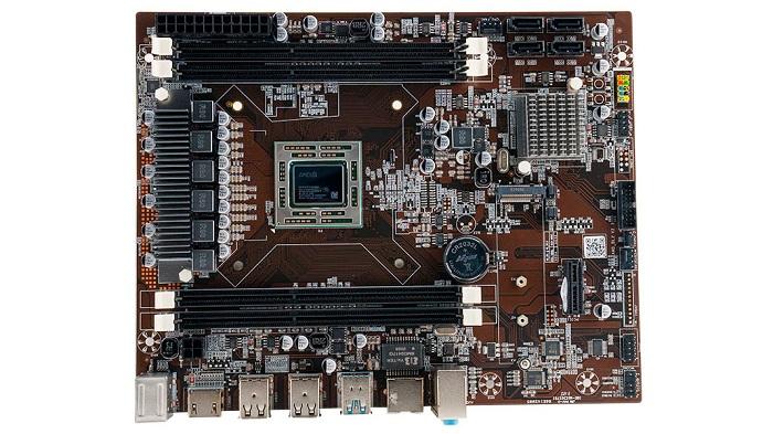 مادربردی از کمپانی ایامدی با پردازنده مجتمع A9-9820 و کارایی معادل با کنسول Xbox One S مشاهده شد