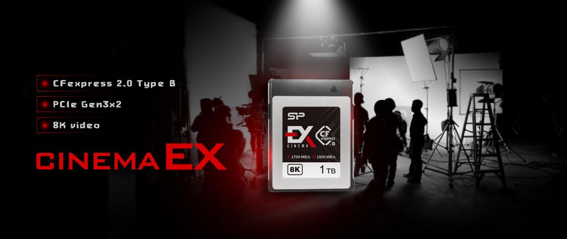 کمپانی سیلیکون پاور از کارت حافظه Cinema EX خود رونمایی کرد