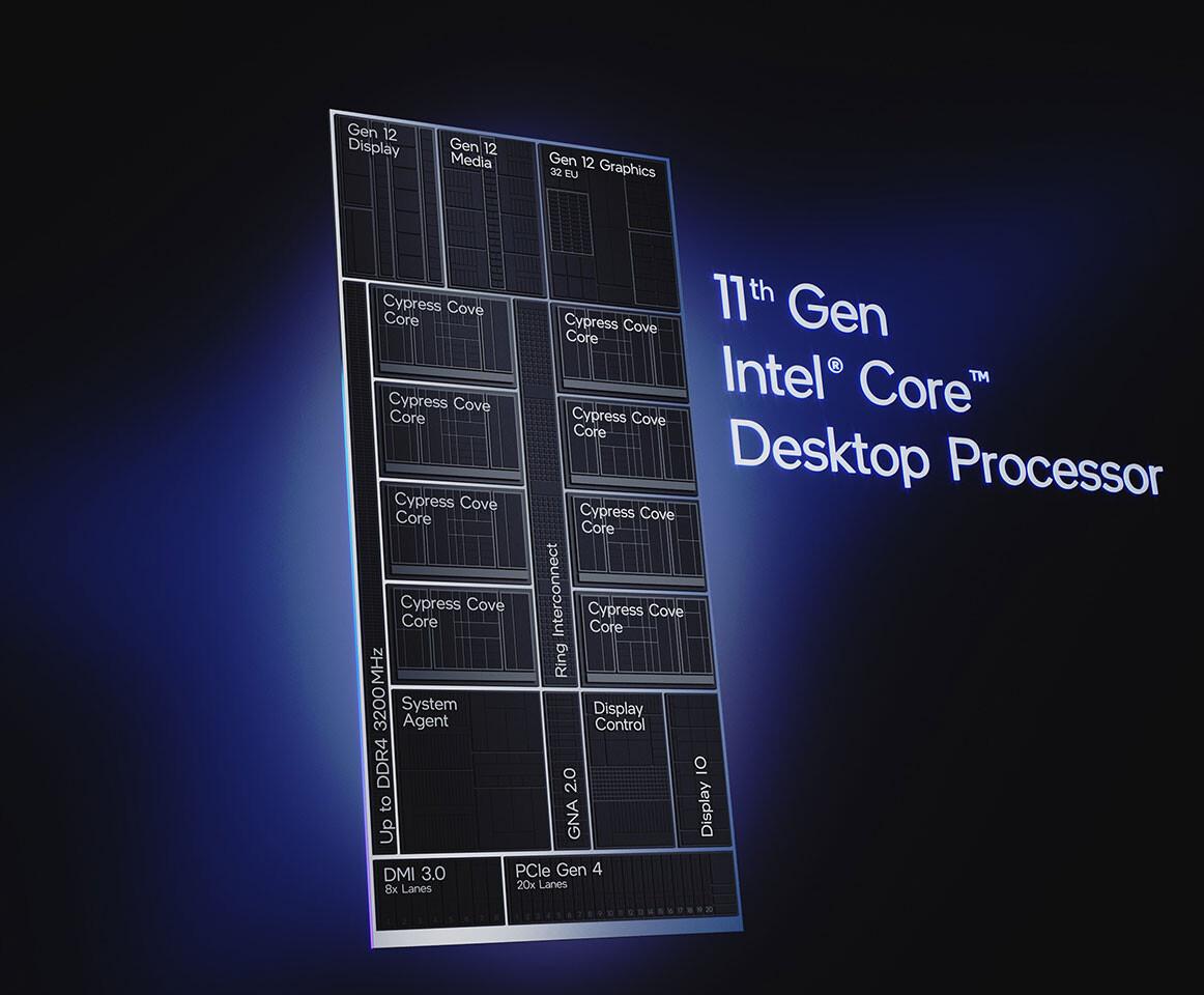 پردازندههای نسل یازدهم سری Rocket Lake-S بهصورت رسمی و جهانی عرضه شدند