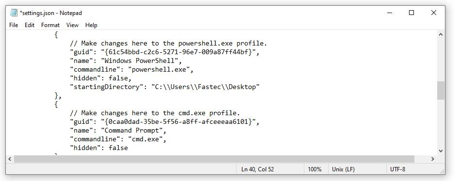آموزش تغییر دایکتوری پیشفرض ترمینال ویندوز در PowerShell و CMD