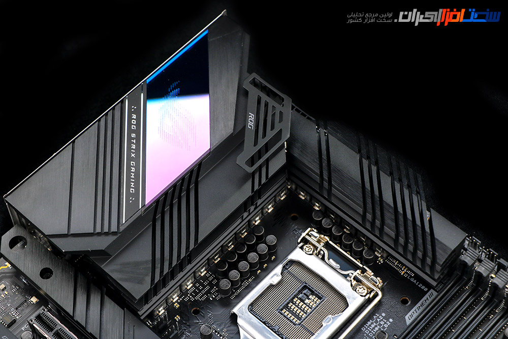 بررسی مادربرد ASUS ROG STRIX Z590-E GAMING WiFi به همراه پردازنده i7-11700K