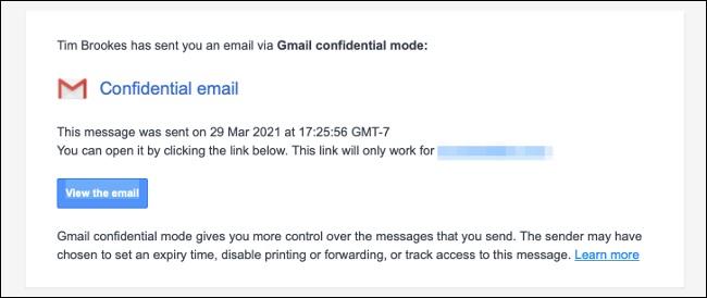 آشنایی با حالت محرمانه (Confidential Mode) در استفاده از سرویس Gmail