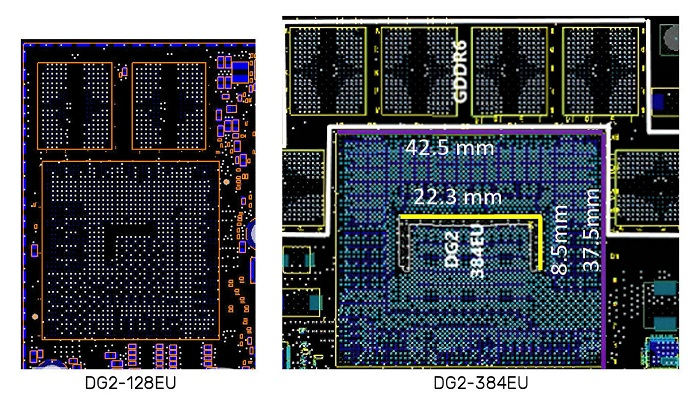 کارت گرافیک DG2-256 کمپانی اینتل قادر است تا با GTX 1050 رقابت کند