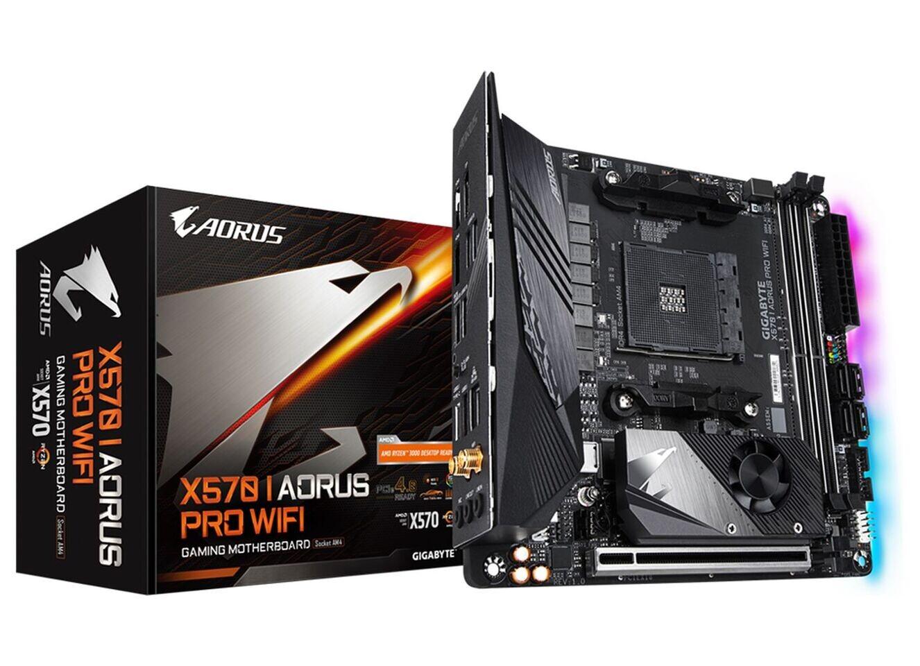 کمپانی گیگابایت در حال آمادهسازی مادربرد X570SI Aorus Pro AX است