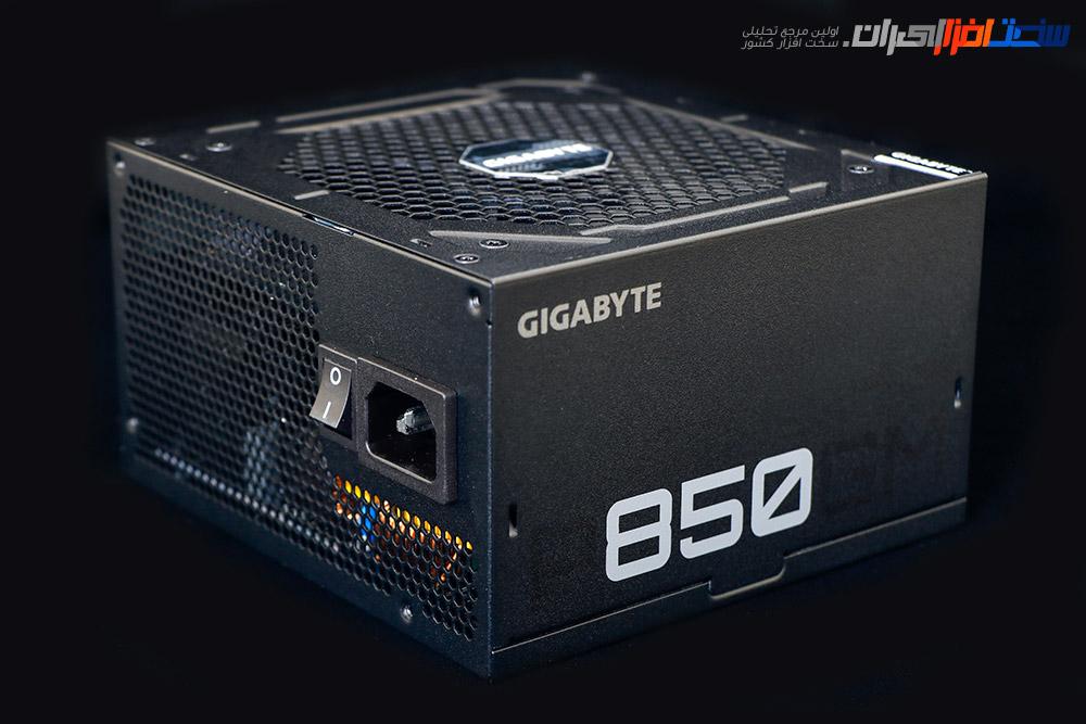نگاهی به منبع تغذیه گیگابایت GIGABYTE GP-P850GM