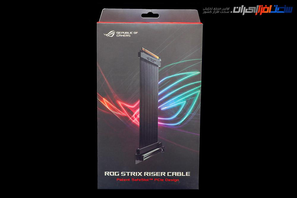 بررسی کابل رایزر ASUS ROG STRIX RISER CABLE