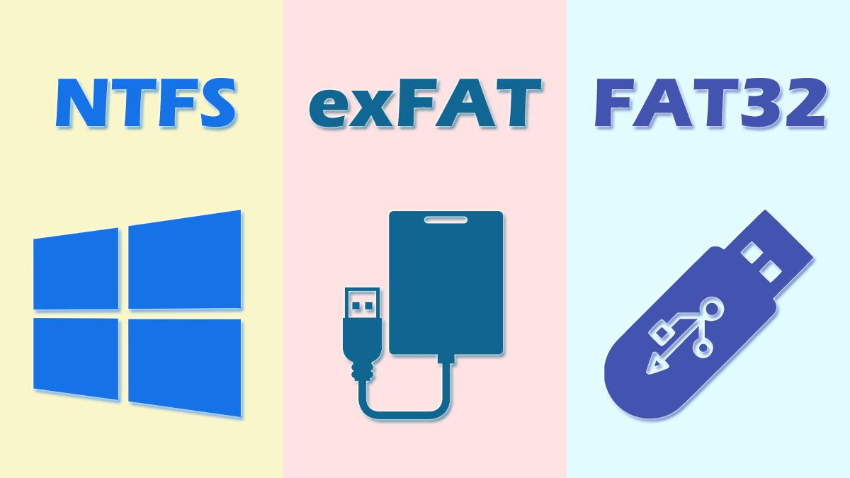 آشنایی با تفاوتهای موجود بین سیستم فایلهای FAT32 ،NTFS و exFAT